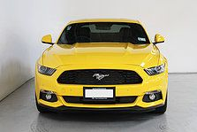 Ford Mustang Ecoboost Fastback In Triple Yellow Prestige Paint