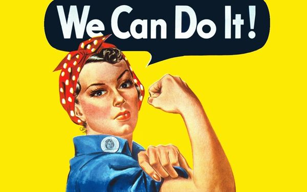 Strong Women - We can do it!