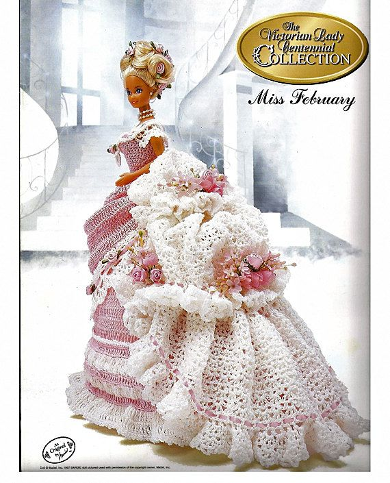 Image detail for -... fashion doll crochet pattern annies attic from ...