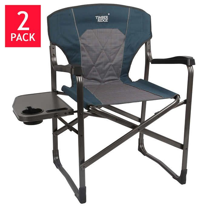 Timber Ridge Director S Chair 2 Pack Reclining Outdoor Chair