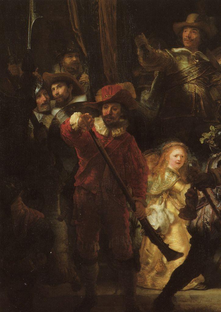 The Night Watch Detail 1642 Rembrandt Rembrandt Paintings Rembrandt Van Rijn Rembrandt