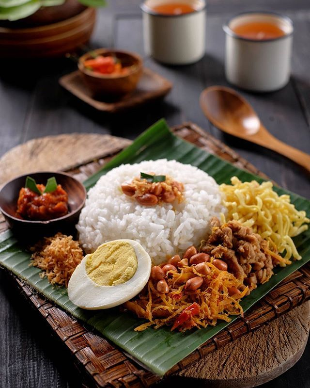 "Malay Wedding Food: ""Balinese Jinggo Rice"" Aka ""Nasi Jinggo Bali"""