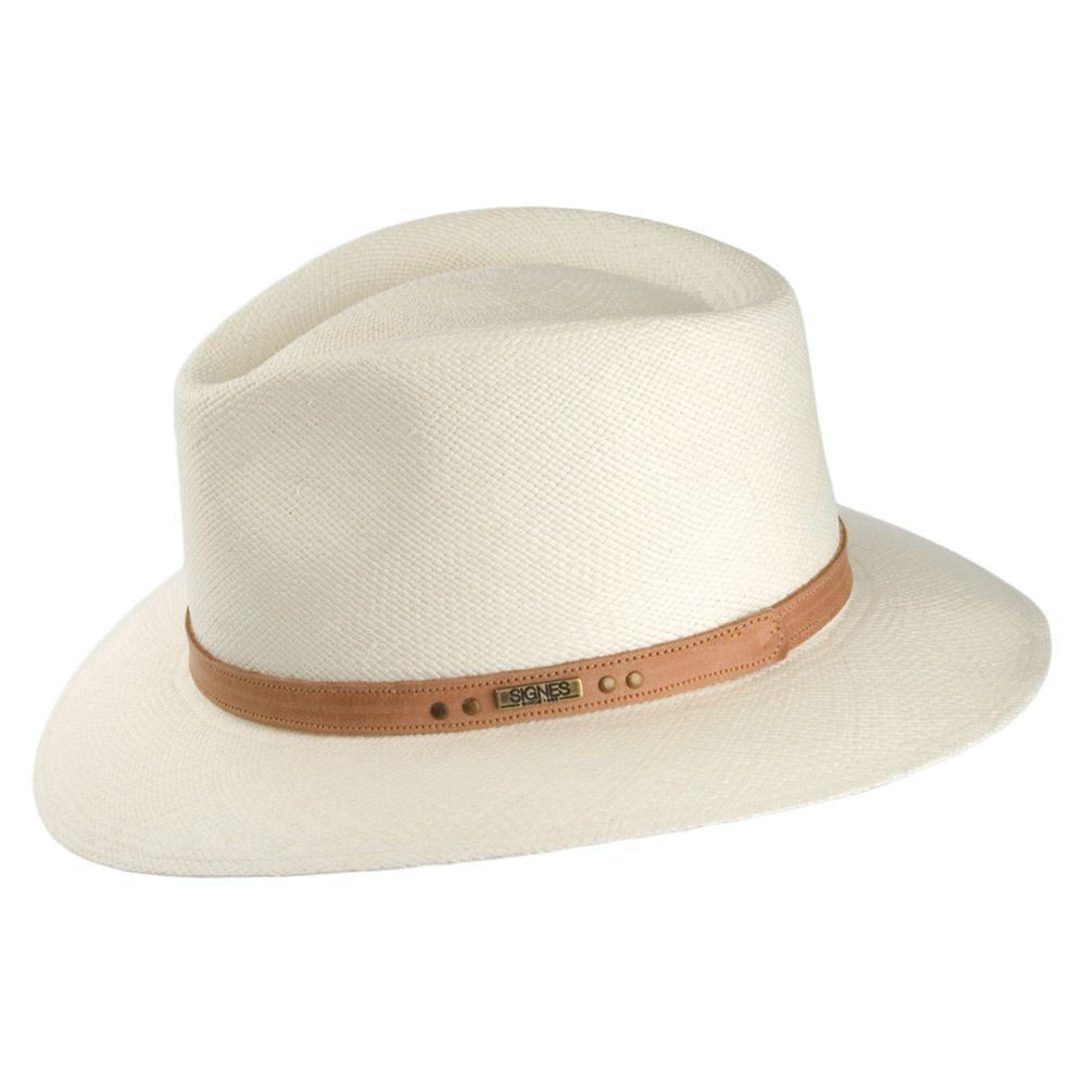 f01c23dfb12 Signes Hats Cordoba Safari Panama Fedora - Natural | Sombreros ...