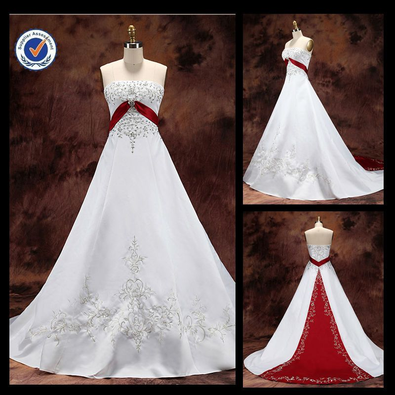 Plus Size Red Wedding Dresses Jm32 White And Red Wedding Dress Muslim Bridal Wedding Dress China Red Wedding Dresses Red Wedding White Bridal Dresses