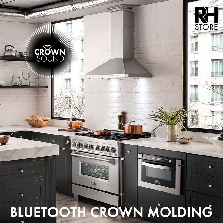 Sleek Smooth And Stainless Stainless Steel Range Hood Stainless Steel Range Range Hoods