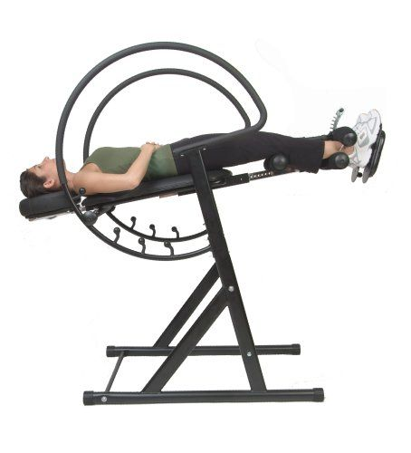 While Traditional Inversion Tables Only Allow Users To Lay Face Up