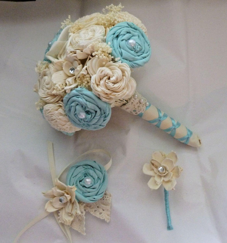 Tiffany blue wedding bouquets tiffany blue wedding corsage made to tiffany blue wedding bouquets tiffany blue wedding corsage made to order sola flower mother izmirmasajfo