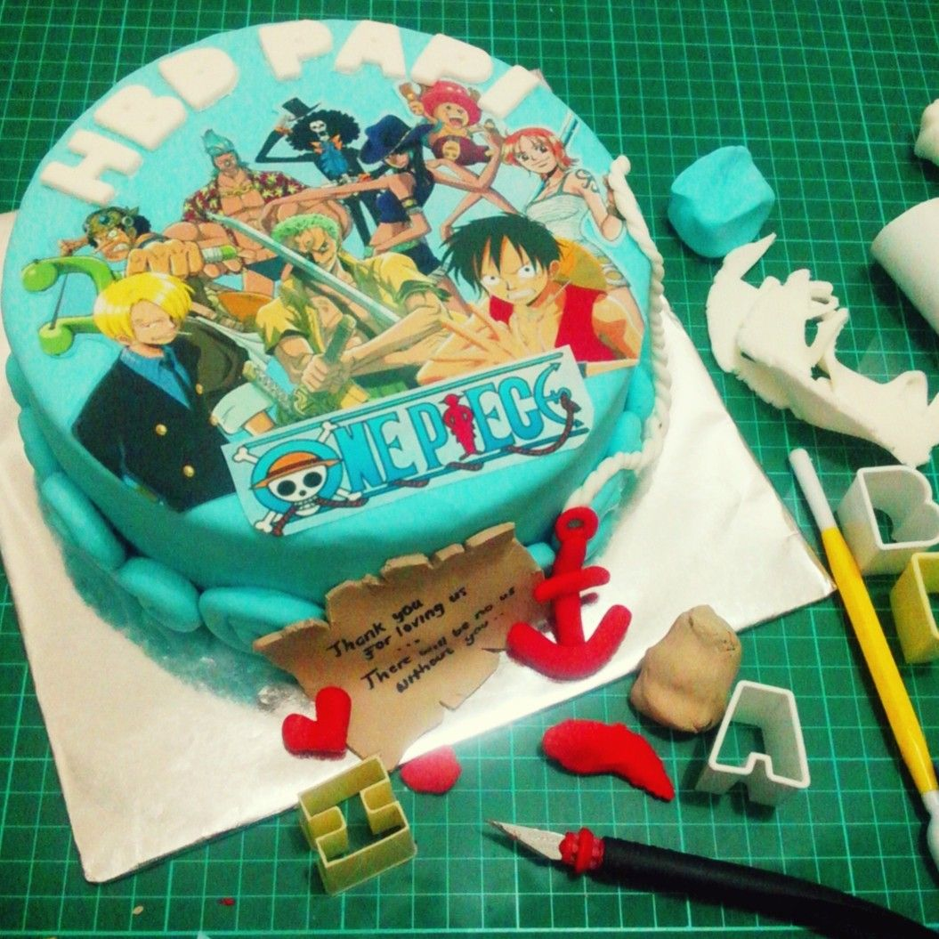 Birthday Cake Pieces Images ~ One piece themed birthday cake pirate pinterest cakes and birthdays