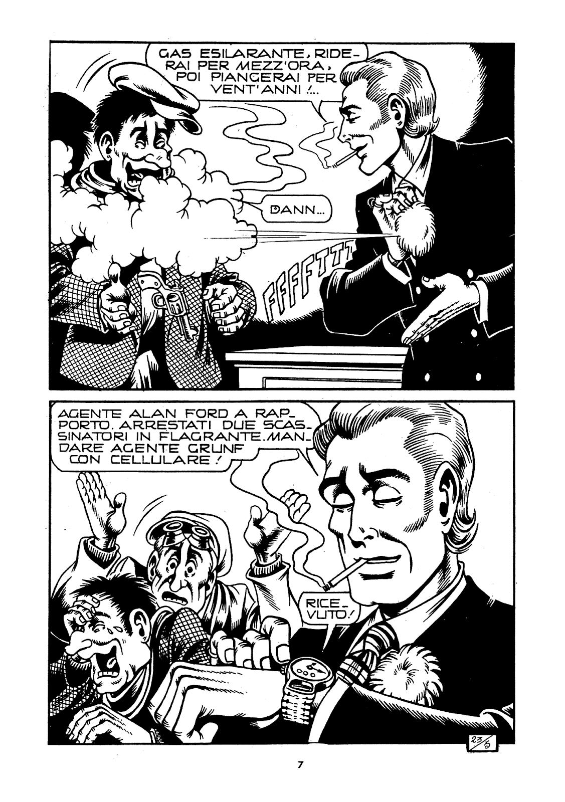 Alan ford gruppo t n t ubc enciclopedia online del fumetto - Le Origini Segrete Di Alan Ford Leggi Http Www Giornalepop It