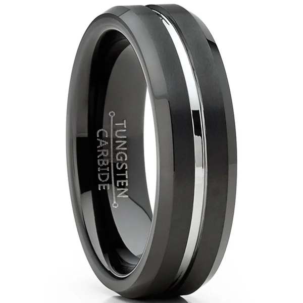 Overstock Com Online Shopping Bedding Furniture Electronics Jewelry Clothing More In 2020 Mens Wedding Rings Black Mens Wedding Bands Tungsten Mens Silver Wedding Bands