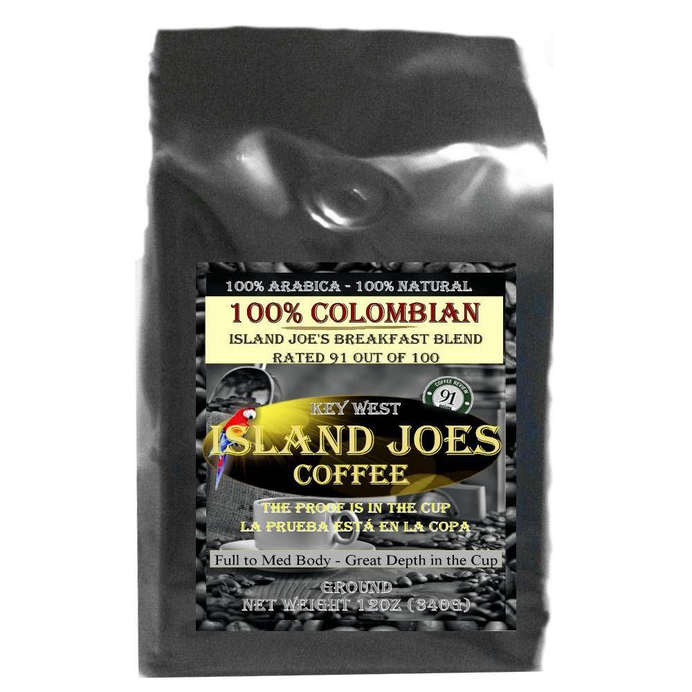 Best Colombian Coffee Brand Breakfast blend, Colombian