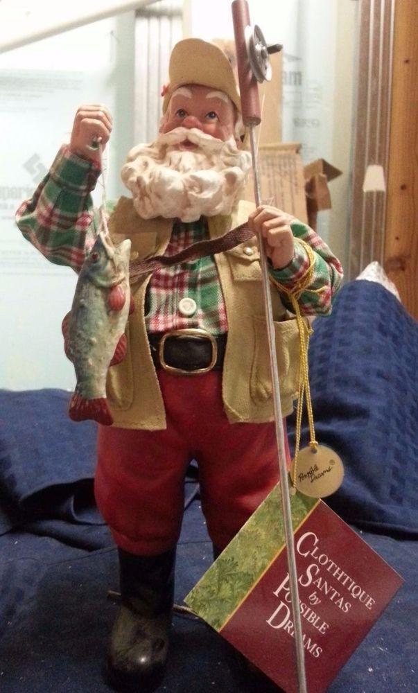 "Possible Dreams ""Hook, Line & Santa"" NEW PRICE"