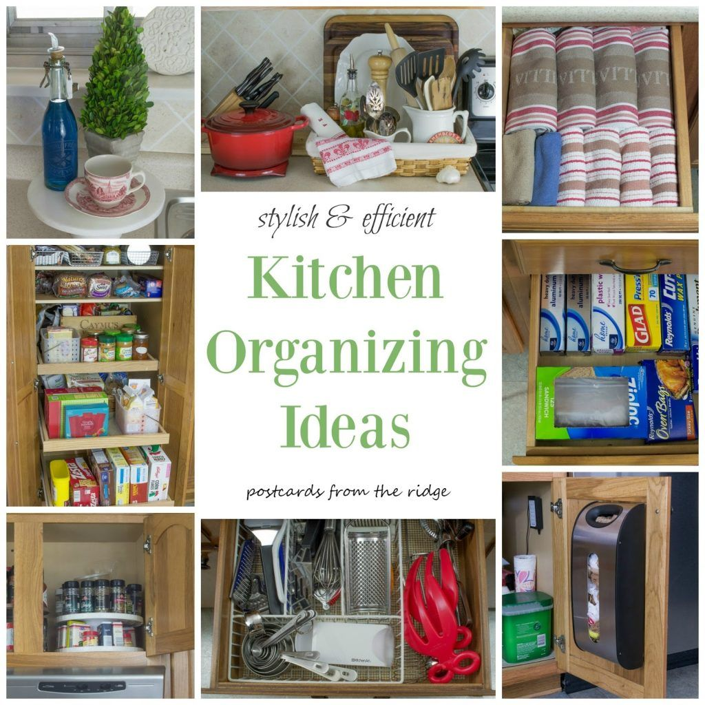 Kitchen Organization Ideas Kitchen Organization Tips Postcards From ...
