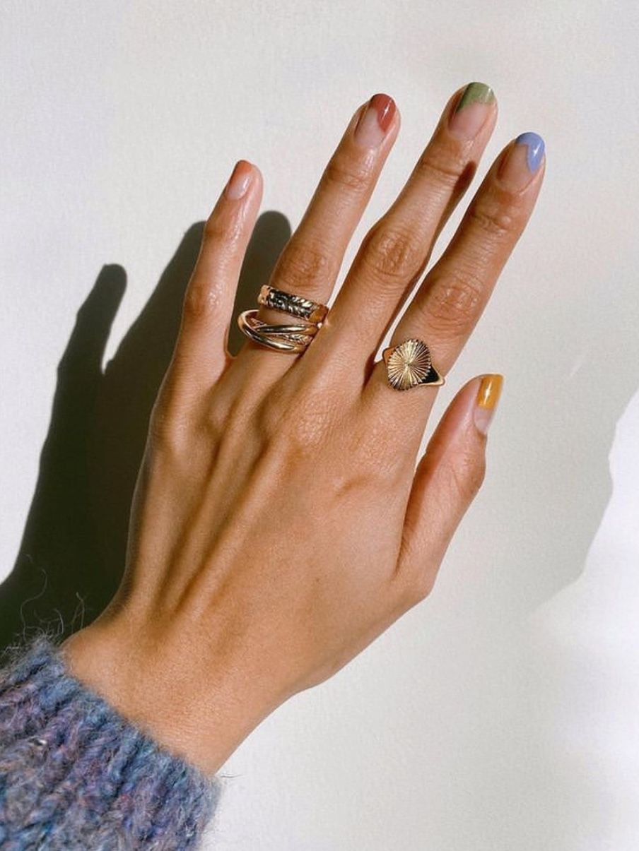 14 Pretty, Uncomplicated Nail Designs To Try At Ho