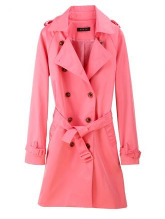10  images about { c o a t s } on Pinterest | Pastel Pink trench
