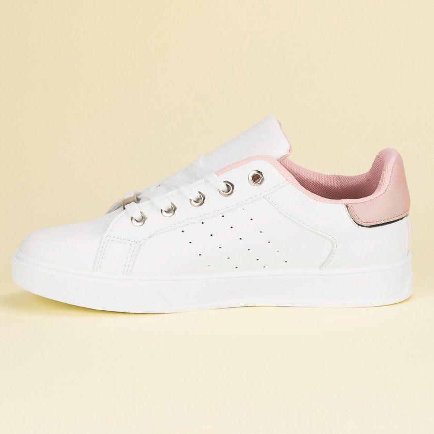 Biale Buty Sportowe Shoes Cute Shoes White Sneaker