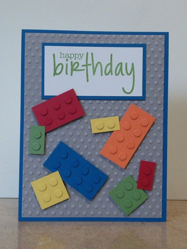 Lego birthday card my cards pinterest birthdays kids cards lego birthday card bookmarktalkfo Image collections