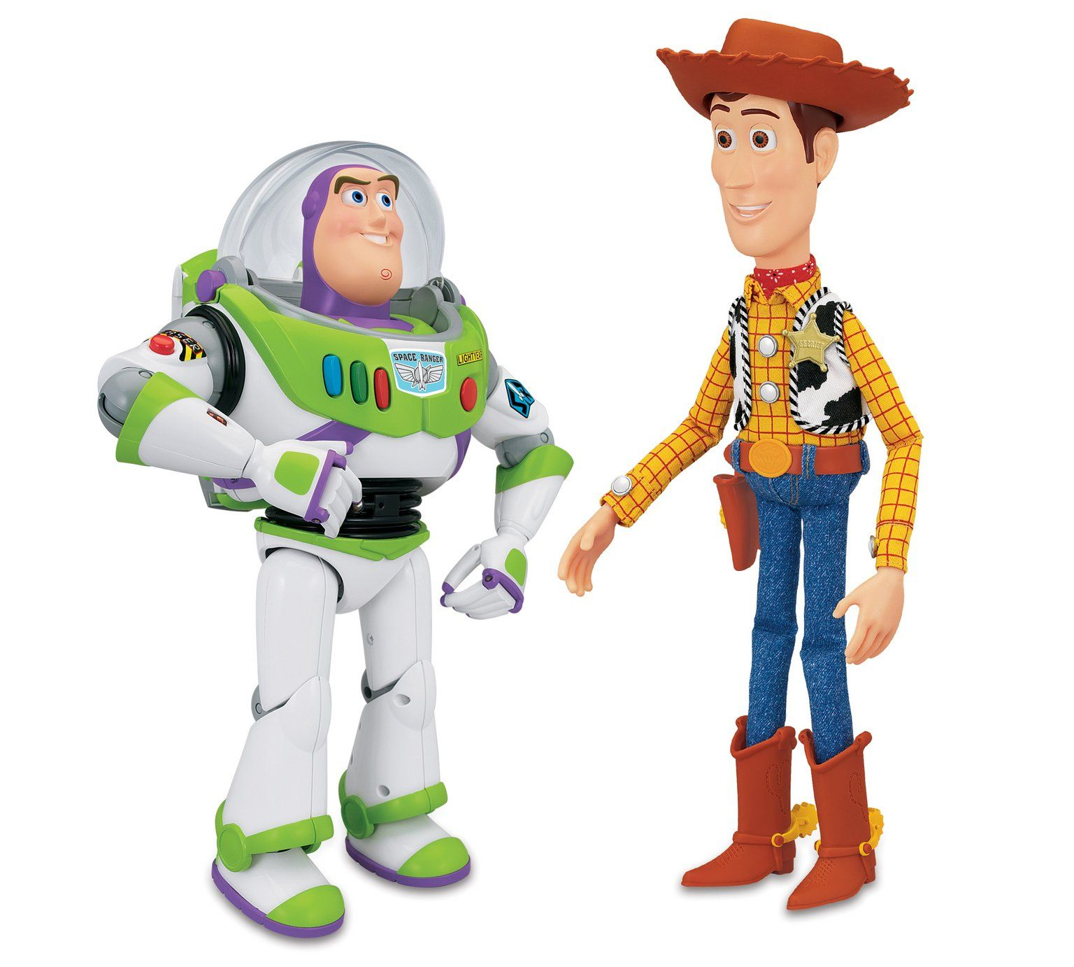 Buy Toy Story Woody and Buzz Talking Figures at Argos visit