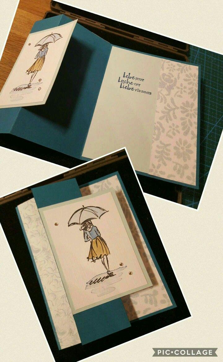 stampin up stempelset mit stil klappkarte card ideas cards folded cards scrapbook cards. Black Bedroom Furniture Sets. Home Design Ideas