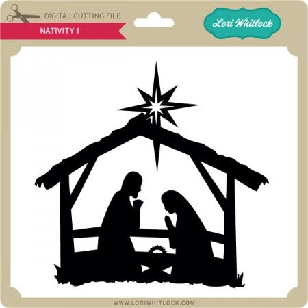 Download Pin by Mary King on Navidad | Nativity silhouette ...