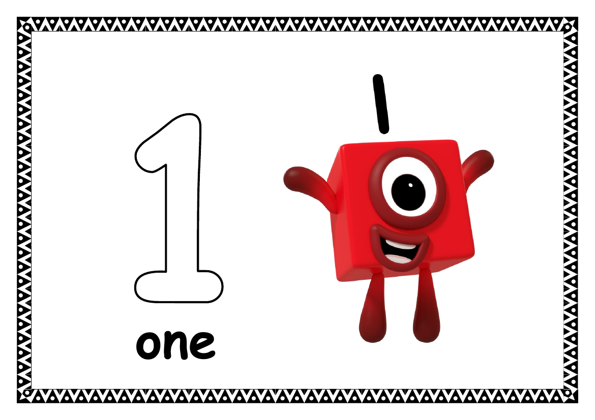 Numberblocks Themed Counting 0
