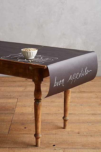 Chalkboard Runner Chalkboard Table Runner Chalkboard Table