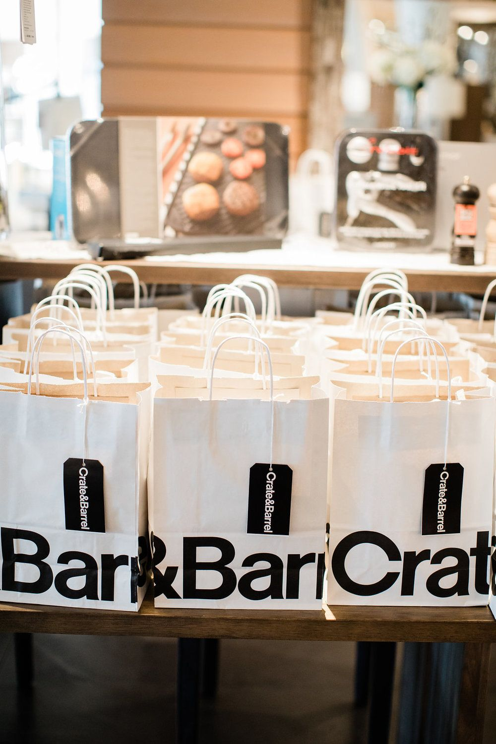 Wedding Registry Event with Crate and Barrel (With images
