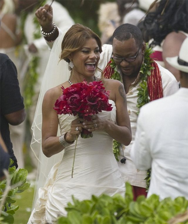 Celebrity Wedding Hawaii: Photo Of The Day: Bobby Brown Gets Married In Honolulu