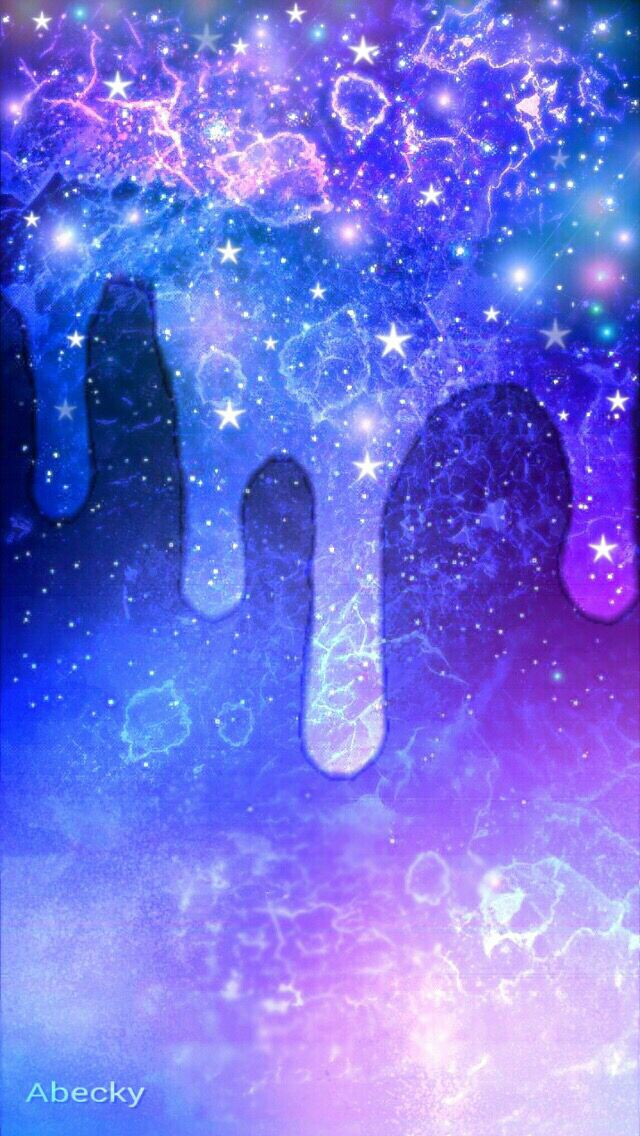 Galaxy drip Backgrounds phone wallpapers, Iphone