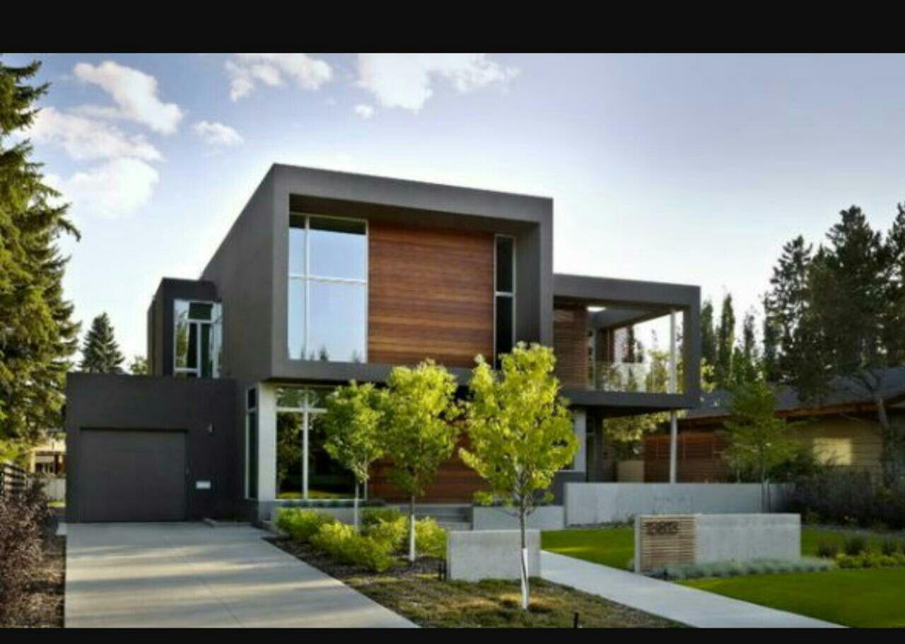 Moderne Häuser, Interior Modern, Moderne Außentüren, Haus Exterieur Design,  Außenlackierung, Modernes Design, Home Design, Grüne Architektur, Verlieben