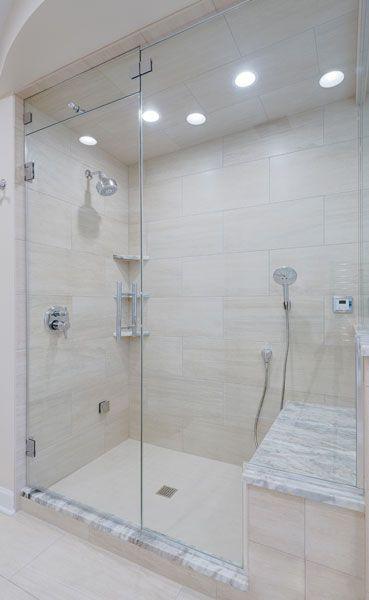 Steam Shower Frameless Shower Doors With Images Frameless