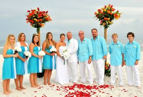 Beautiful Attire For Beach Wedding Turquoise With Images