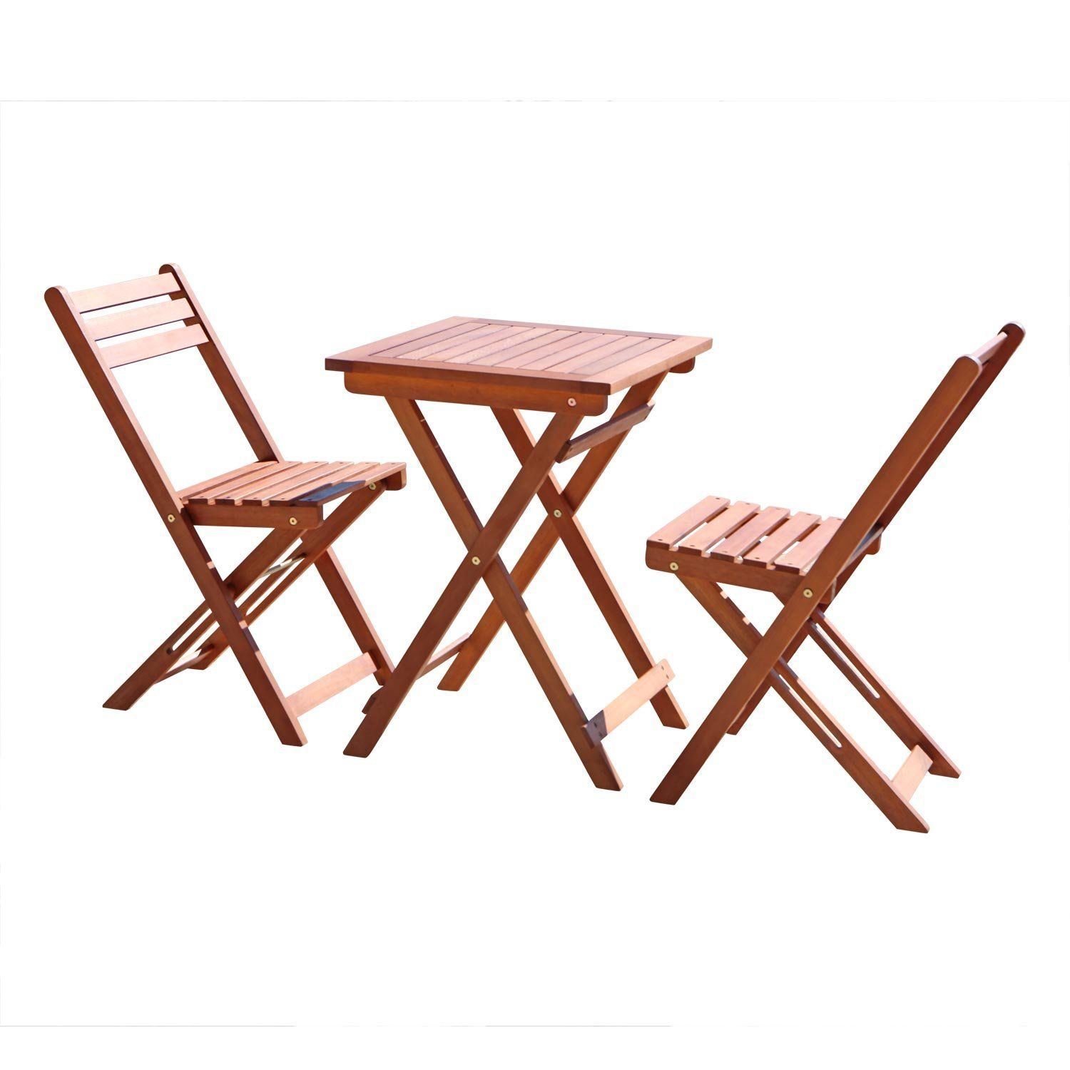 Win a vifah outdoor wood folding bistro set sweepstakes