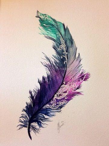 Photo of 9 superbes idées et dessins de tatouage à l'aquarelle Barbaramode.com