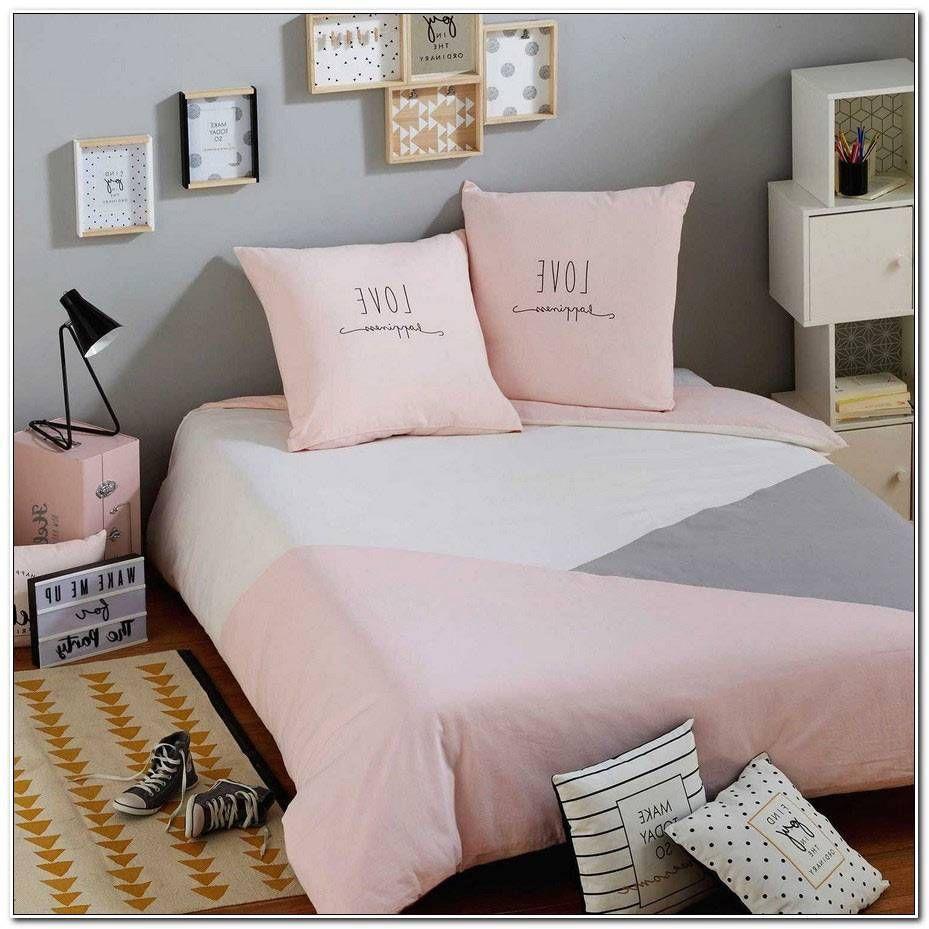 Gris Chambre Ado Fille chambre ado fille gris et rose | home, bed, blanket