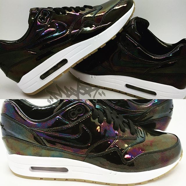 Nike Air Max 1 Bespoke Iridescent Oil Slick