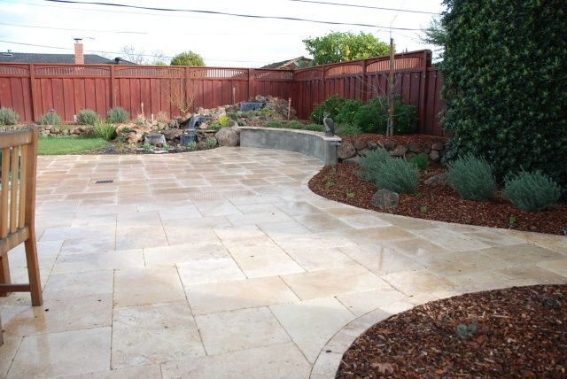 Photos Of Travertine Patios | Travertine Paver Patio