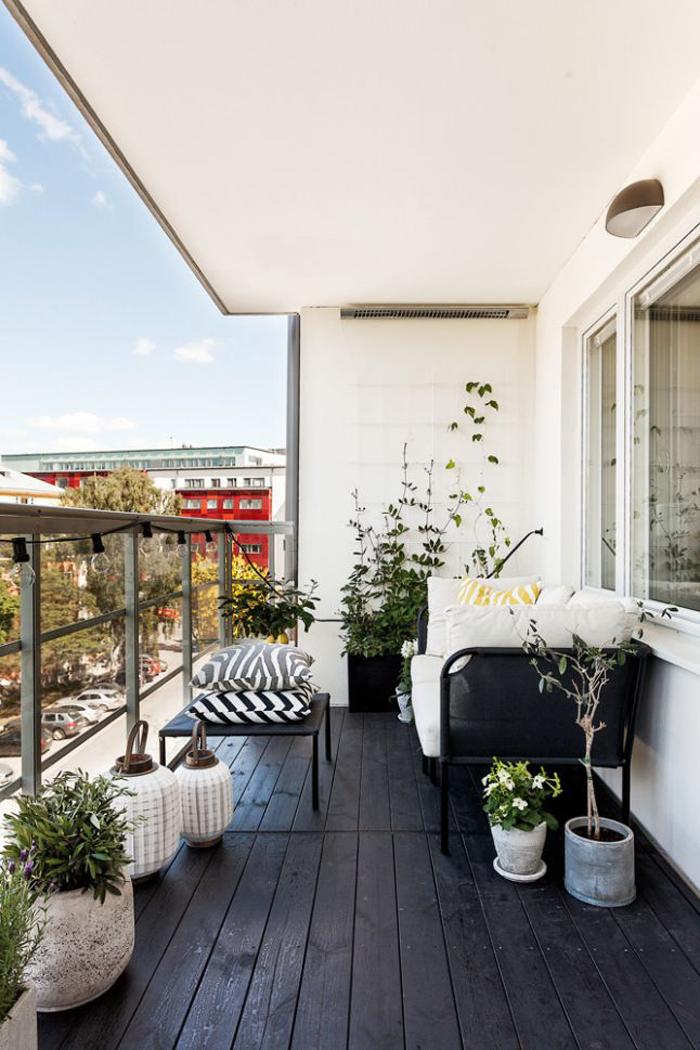 21 idee per arredare un piccolo balcone Decorazione