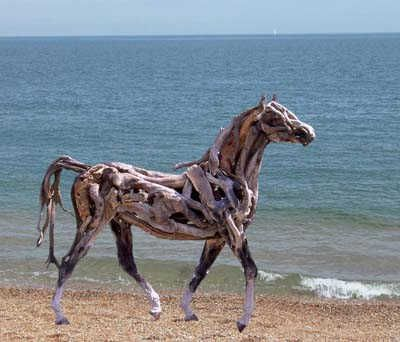Made from Driftwood....cool!