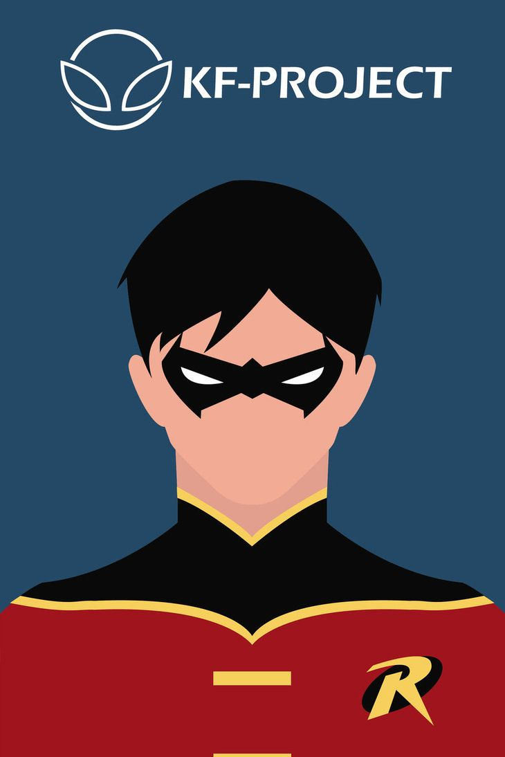 Robin Minimalist by ~KF-Project on deviantART