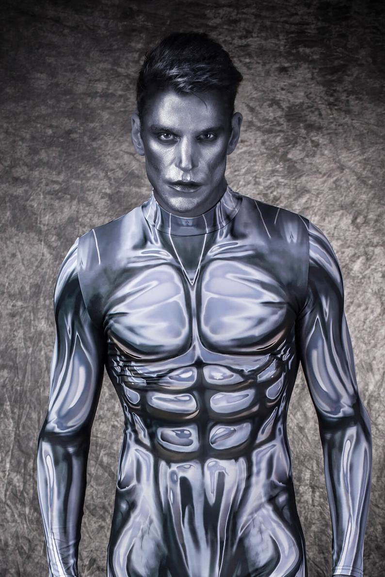 Mens Cosplay Costume, Mens Superhero Costume, Costume Man