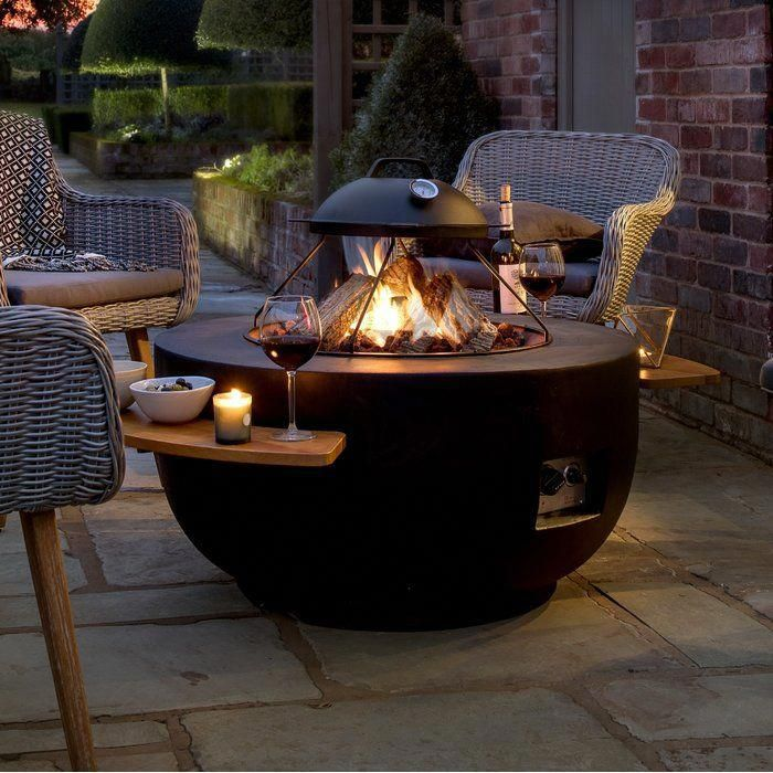 Photo of Concrete Propane Fire Pit