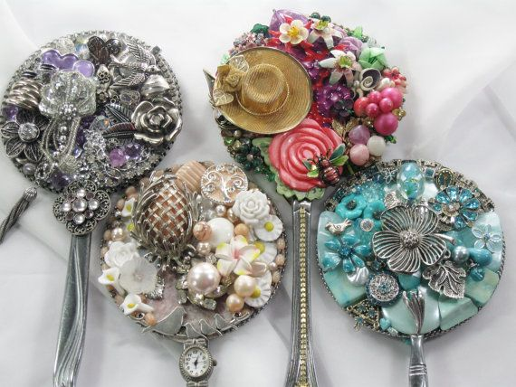 Hey, I found this really awesome Etsy listing at https://www.etsy.com/listing/191516339/bridal-party-gifts-jeweled-hand-mirrors