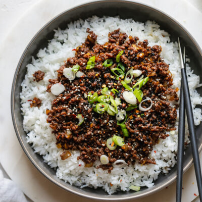Korean Beef Easy Korean Ground Beef Recipe Recipe In 2020 Bulgogi Beef Korean Beef Korean Ground Beef