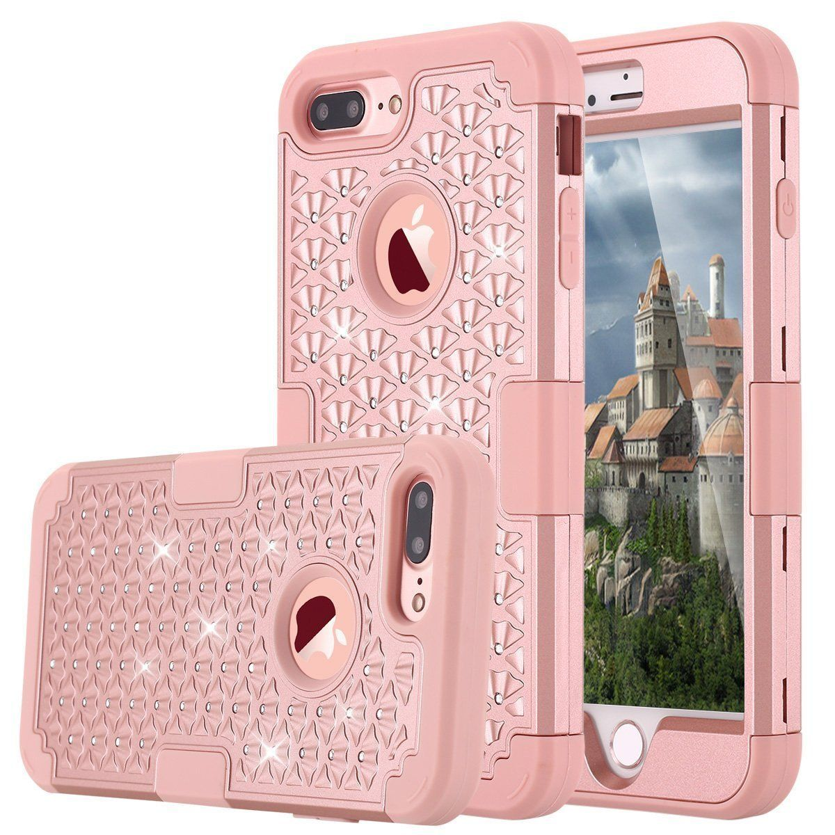 iphone 6 heavy duty rose gold case