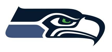 photograph regarding Printable Seahawks Logo referred to as Seahawks Emblem - Seahawks Logo Coloring Sheet Printable