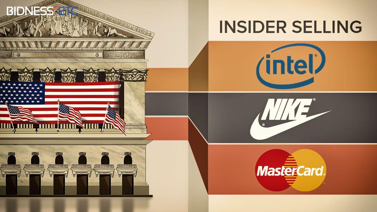 Insider Selling: Intel Corporation (INTC), Nike Inc (NKE), Mastercard Inc (MA)