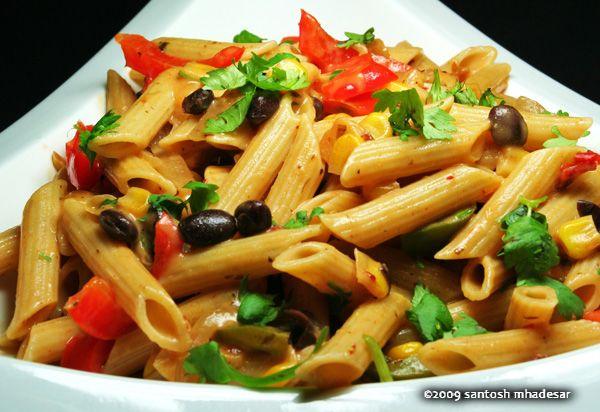 Southwestern Pasta Alfredo | Avanti's Recipes