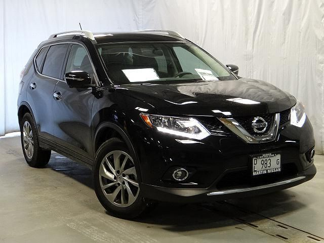 2014 nissan rogue sl awd sl 4dr crossover wagon 4 doors black for sale in skokie il source. Black Bedroom Furniture Sets. Home Design Ideas