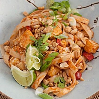 Crispy Tofu Pad Thai... Happy Hour Appetizers 53   Hampton Roads Happy Hour